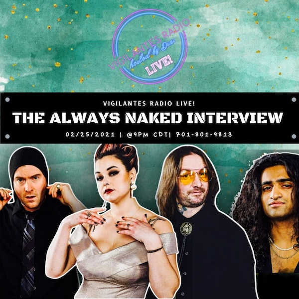 The Always Naked Interview w/Rahul Mathew. Image