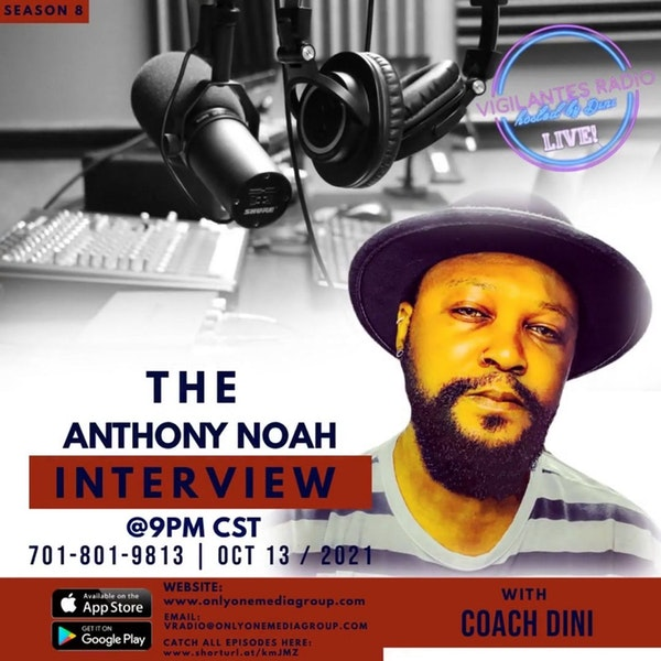 The Anthony Noah Interview. Image