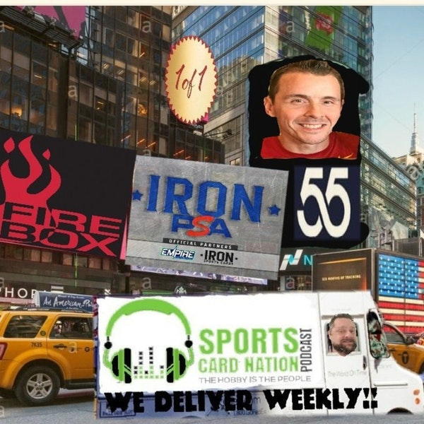 Ep.55 w/Chris Steuber(BCD) Sports experience helps hobby experience,Bowman Draft Sapphire