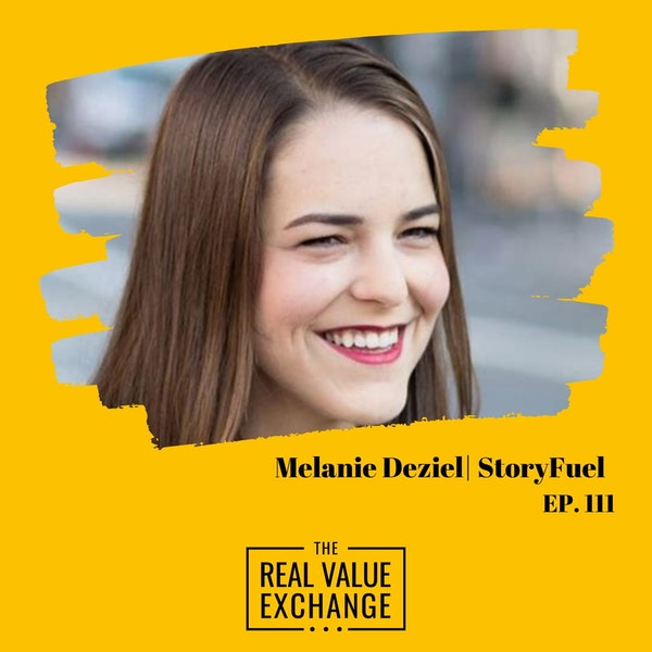 112. Melanie Deziel   StoryFuel Image