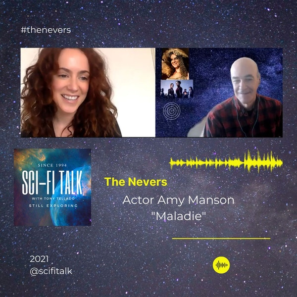 Amy Manson The Nevers Image