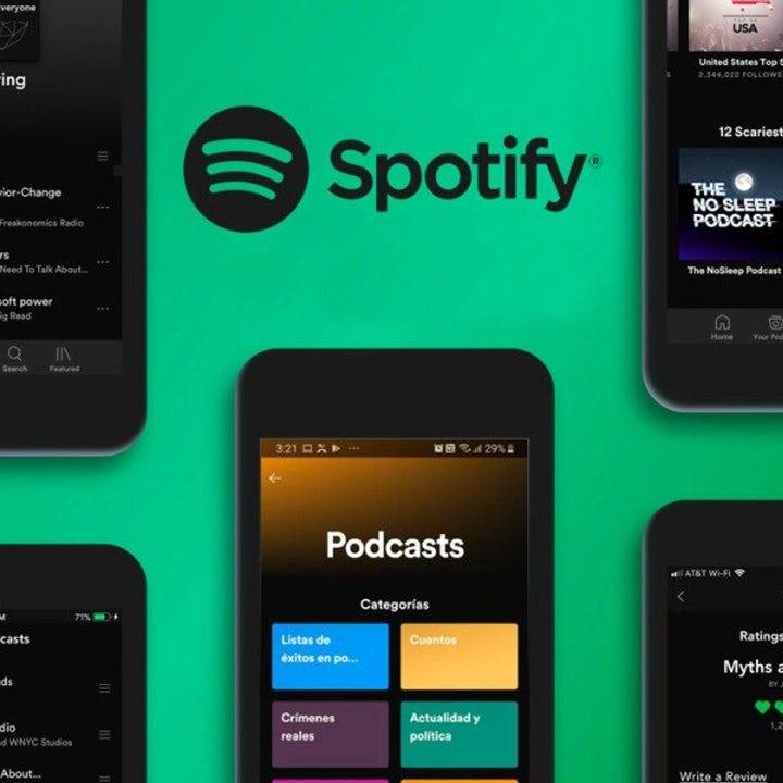 Spotify Podcast Campaign