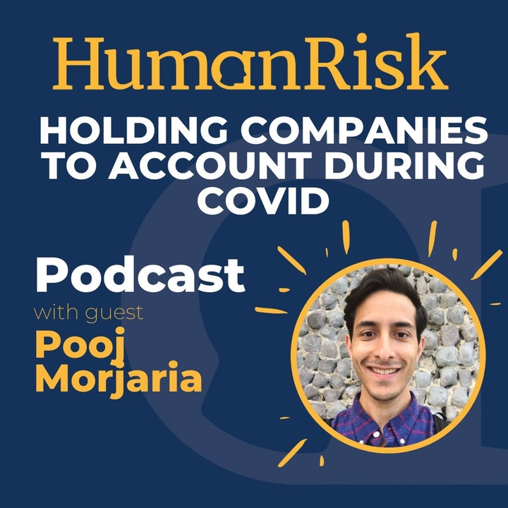 Pooj Morjaria on holding companies to account under COVID