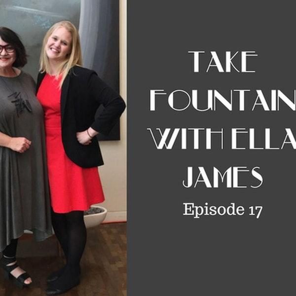 18: SONY Casting Coordinator Amanda Richards - Take Fountain with Ella James Episode 17