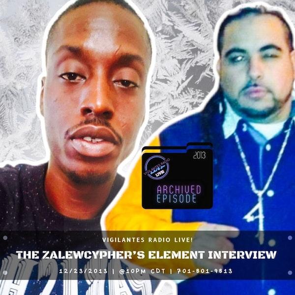 The ZaLewcypher's Element Interview (Flashpoint Dec 2013). Image