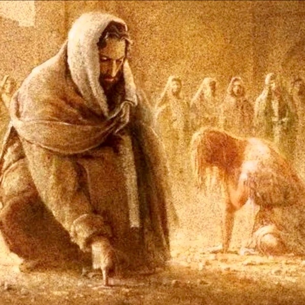 Did Jesus Kill The Woman Caught in Adultrey? Image
