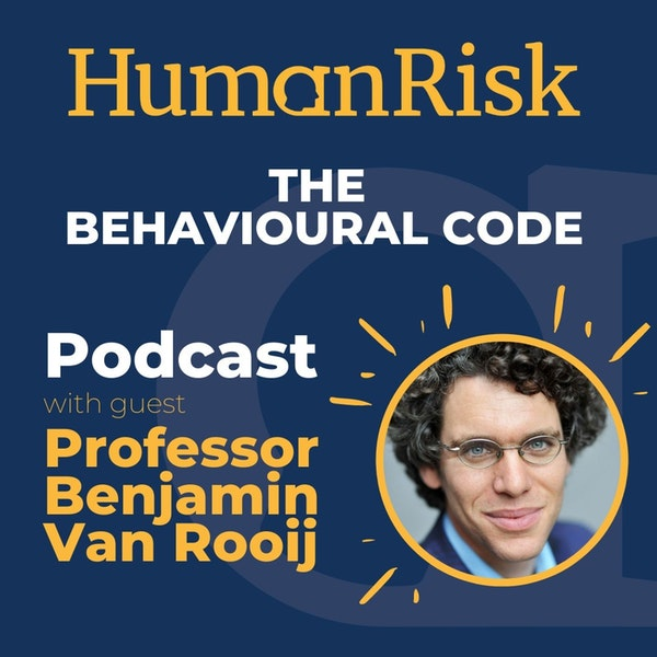 Professor Benjamin Van Rooij on The Behavioural Code Image