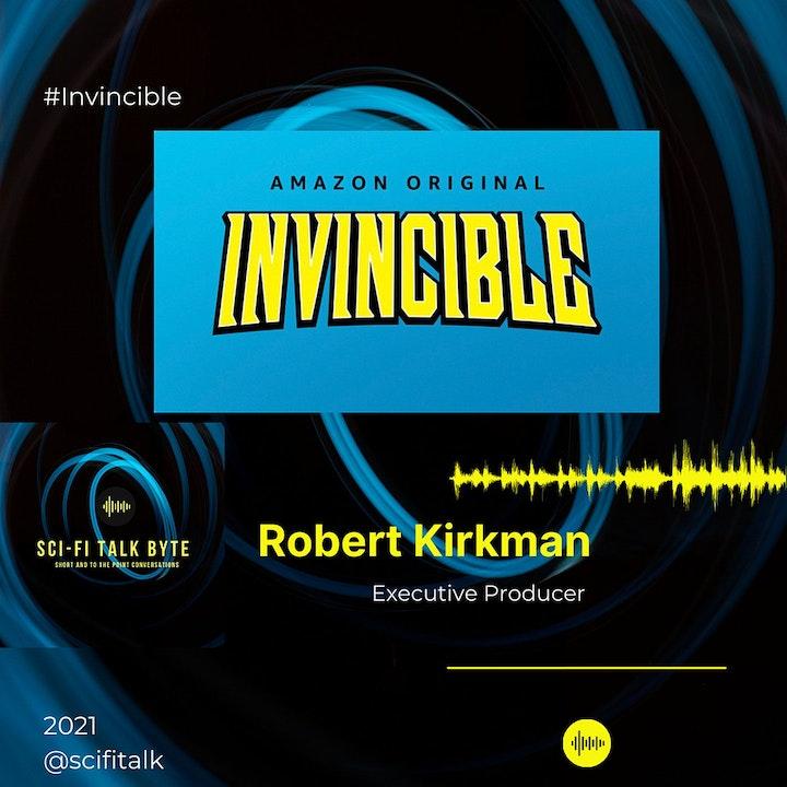 Episode image for Byte Robert Kirkman On Invincible