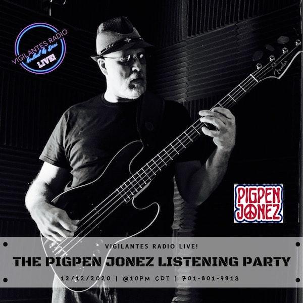 The Pigpen Jonez Listening Party w/Glen Valentino. Image