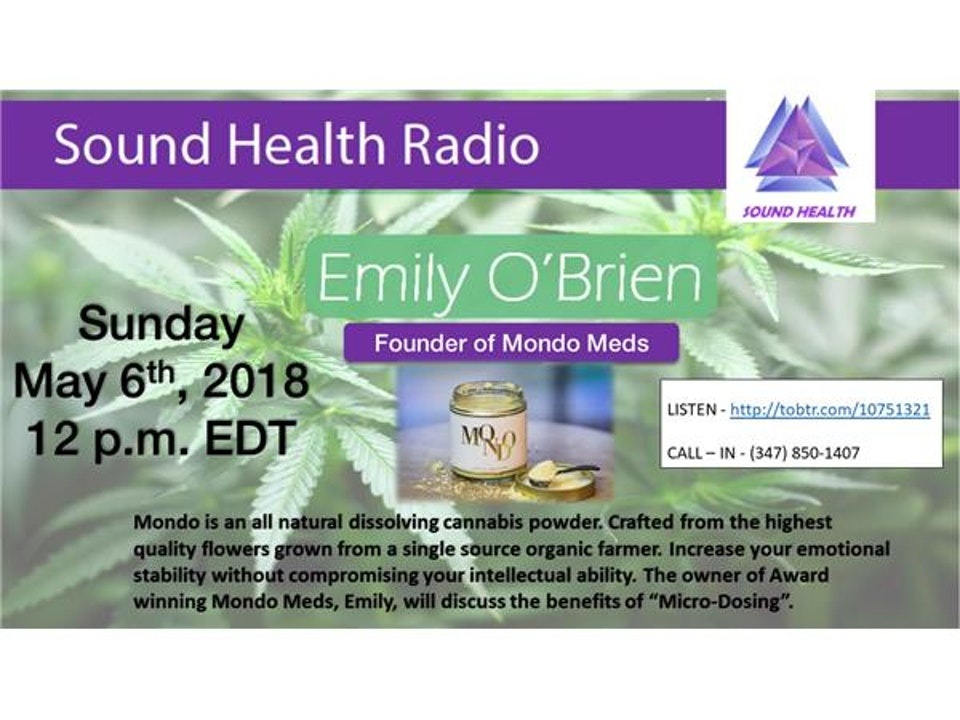 Cannabis microdosing expert, Emily O'Brien speaks with us about anxiety