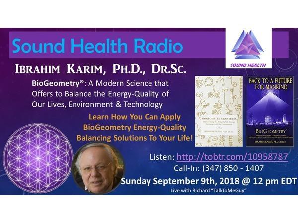 Sound Health Radio with Ibrahim Karim & BioGeometry Image