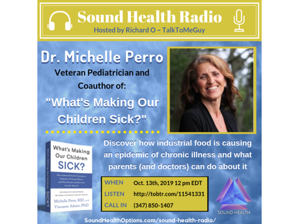 Dr. Michelle Perro - What's Making Our Children Sick? Image