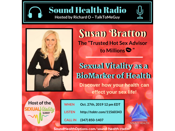 Susan Bratton - Sexual Vitality as a BioMarker of Health Image