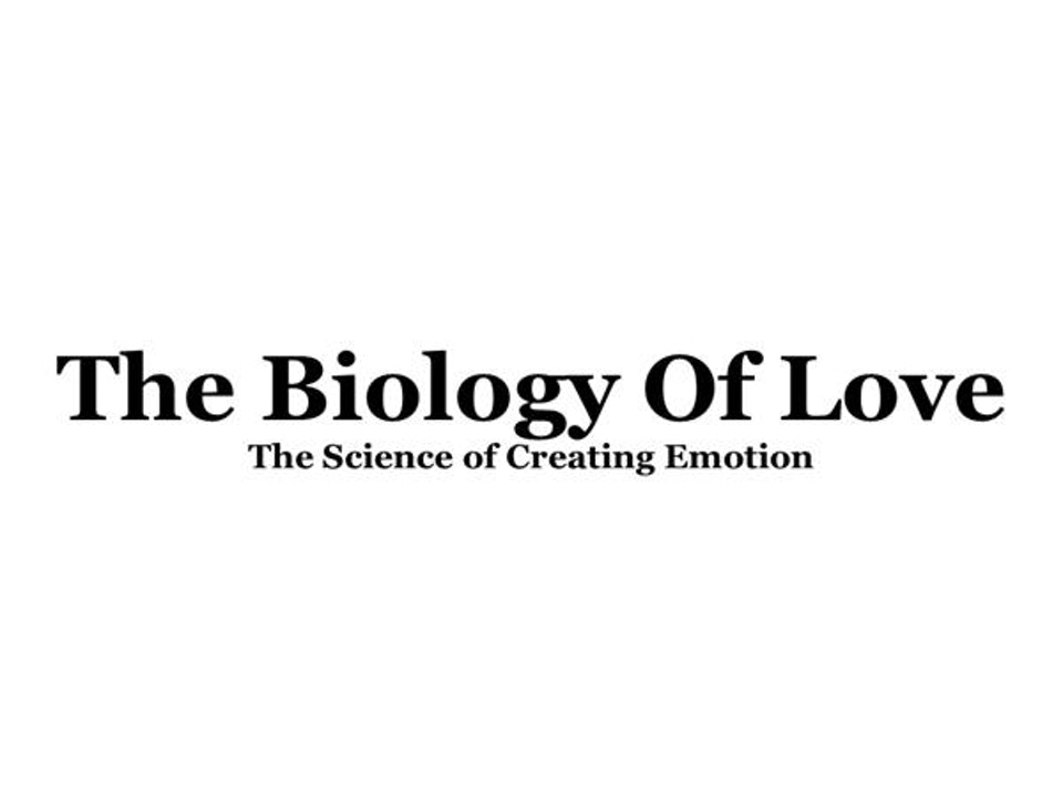 The Biology Of Love; The Science of Creating Emotion