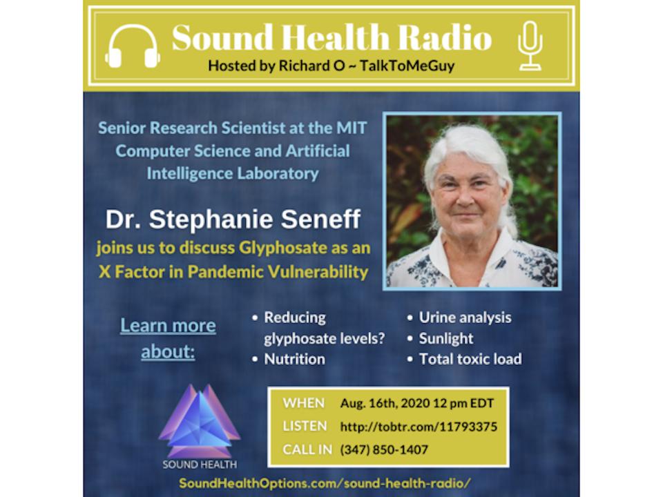 Dr. Stephanie Seneff - Glyphosate as an X Factor in Pandemic Vulnerability