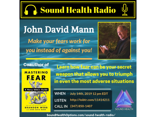 John David Mann - The Guide to Mastering Your Fears Image