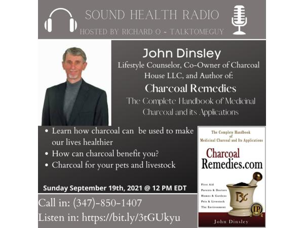 John Dinsley - Charcoal Remedies: Medicinal Charcoal and Its Applications Image