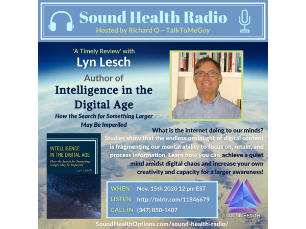 Lyn Lesch - How to Achieve a Quiet Mind Amidst Digital Chaos - A Review Image