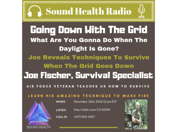 Sound Health Replay - Survivalist, Joe Fischer Image
