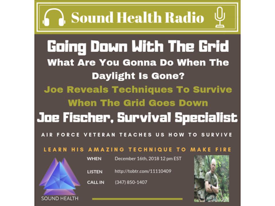 Sound Health Replay - Survivalist, Joe Fischer