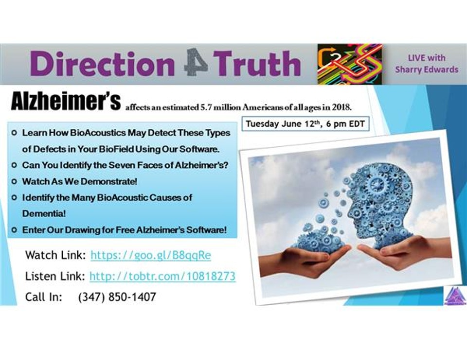Direction 4 Truth - BioAcoustics & Alzheimer's