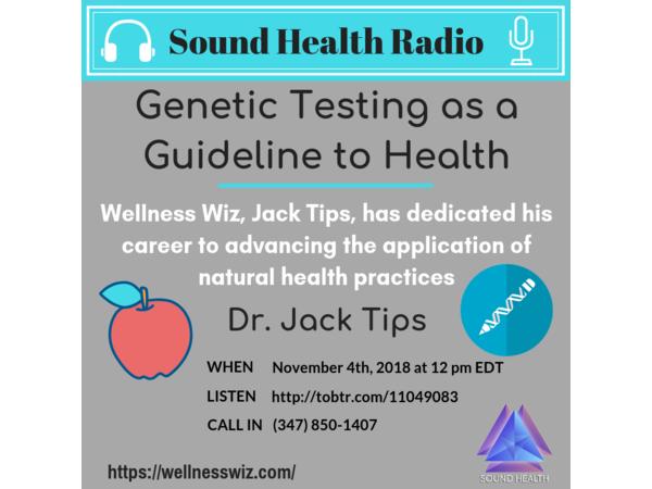 Sound Health Radio with Jack Tips Image