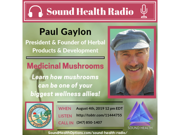 Paul Gaylon - Mushrooms as a Wellness Ally Image