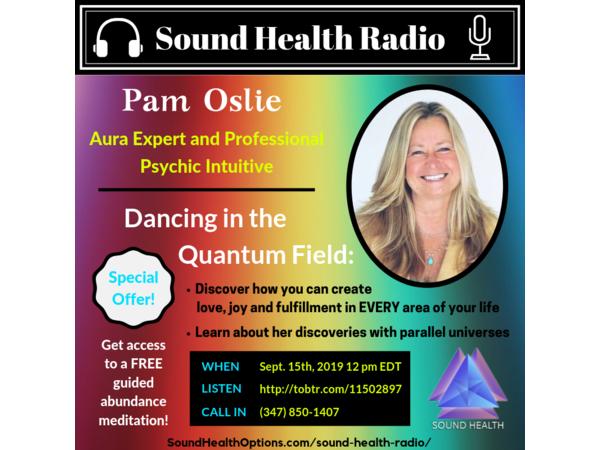 Pam Oslie - Dancing in the Quantum Field Image