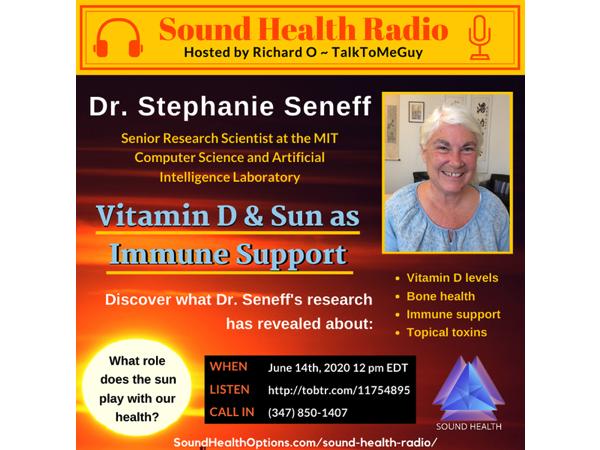 Stephanie Seneff - Vitamin D & Sun as Immune Support Image