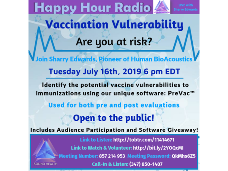 HAPPY HOUR - Vaccination Vulnerability: Are You At Risk?