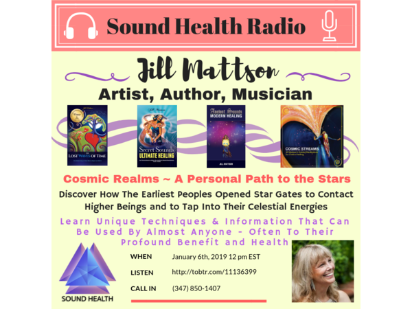 Cosmic Realms ~ A Personal Path to the Stars with Jill Mattson Image
