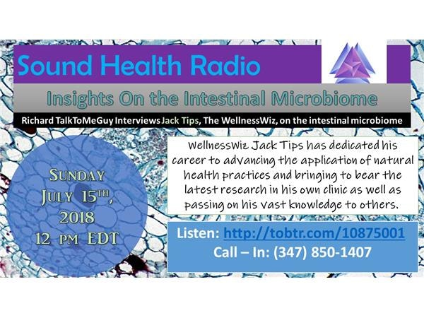 Sound Health Radio with Jack Tips: The PsychoBiome Image