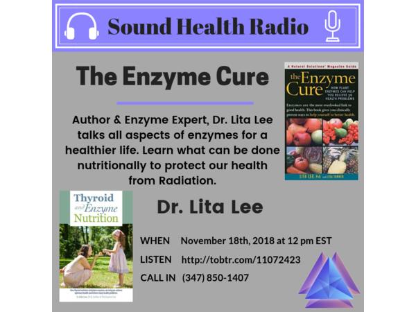 Sound Health Radio with Author Lita Lee PhD Image