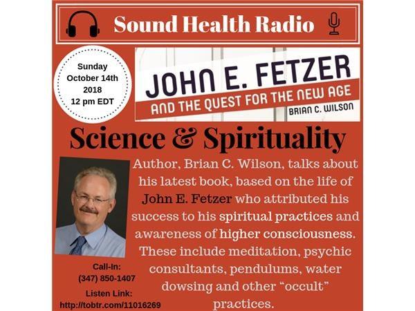 Sound Health Radio with Brian C. Wilson, Ph. D. Image