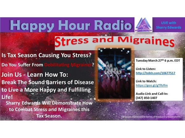 Happy Hour: Stress and Migraines Image