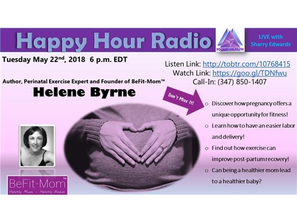 Happy Hour - BeFit-Mom with Helene Byrne