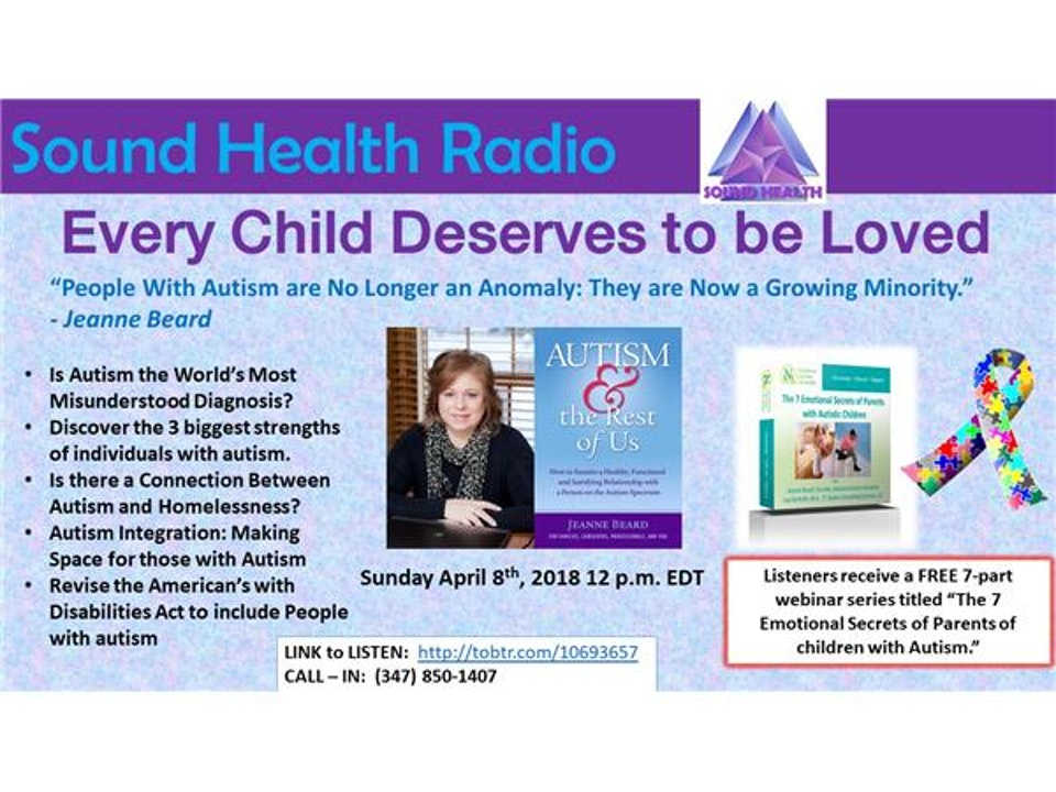 Autism Awareness with Jeanne Beard