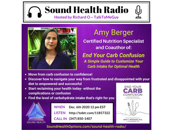 Amy Berger - End Your Carb Confusion Image