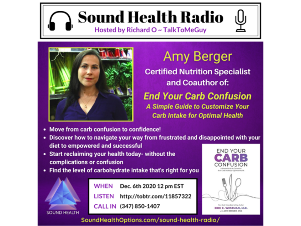 Amy Berger - End Your Carb Confusion