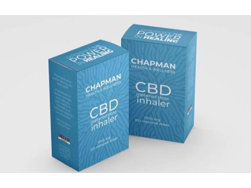Christine Chapman- CEO of Chapman Health & Wellness~ Introduces  the CBD Inhaler