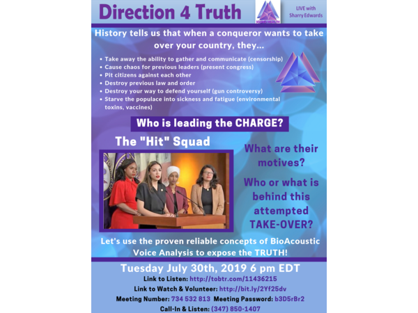 Direction 4 Truth - Who is Leading the CHARGE? Image