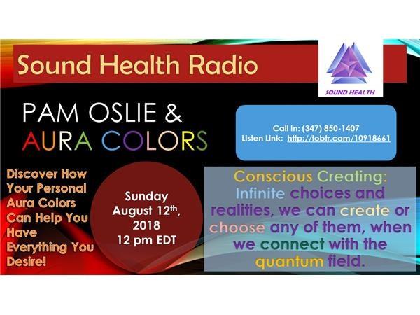 Sound Health Radio with Pam Oslie of Aura Colors Image