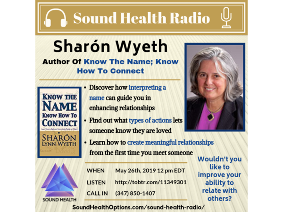 Sharón Wyeth - Decipher A Name, Create Meaningful Relationships