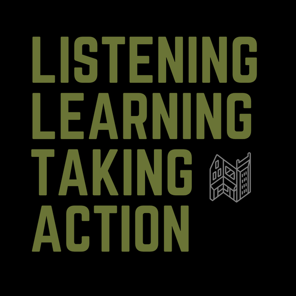Listening, Learning, Taking Action Image