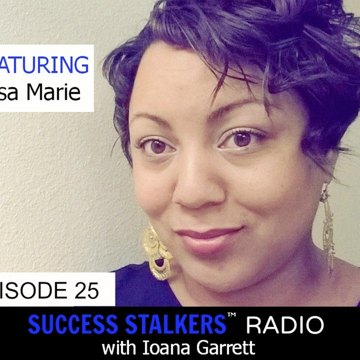 25: Lisa Marie: CEO of Beauty Blackbook & Author Shares Her Deepest Passion