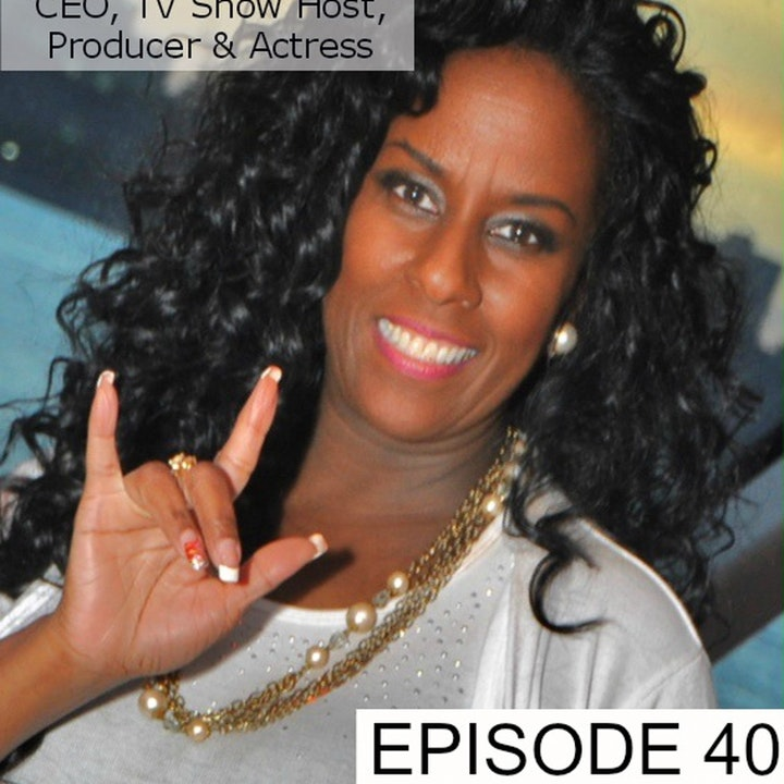 """40: Theressa DuBois: TV Host & CEO of """"Deaf Welcome Foundation"""" Talks About Her Mission"""