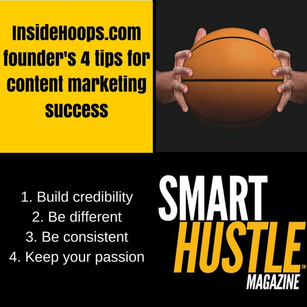 Jeff Lenchiner of Inside Hoops - 4 Tips So Content Marketing Success