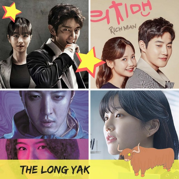 17. The Long Yak - Lawless Lawyer | Wok of Love | Sketch | A Poem A Day | Pretty Noona Image