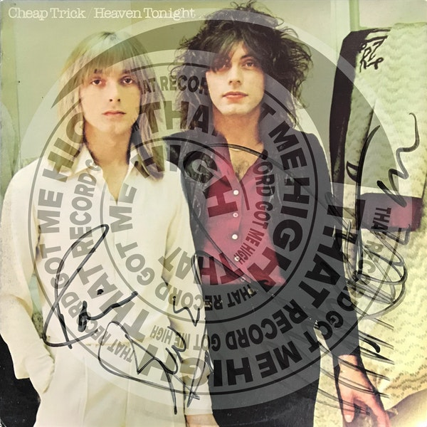 """S2E67 - Cheap Trick """"Heaven Tonight"""" with Jill Definis Image"""