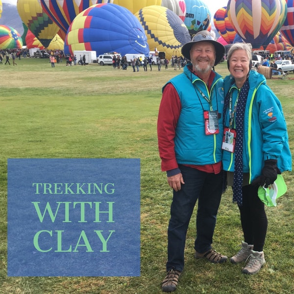 7: A Couple of RV'rs - Trekking With Clay Image